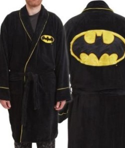 DC-Comics-Batman-Logo-Fleece-Bathrobe-Mens-0
