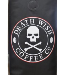 Death-Wish-Coffee-The-Worlds-Strongest-Coffee-Fair-Trade-Organic-Ground-Coffee-Beans-16-Ounce-Bag-0