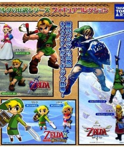 Legend-of-Zelda-Japan-TOMYTakara-2012-Gashapon-Figure-Set-of-6-0