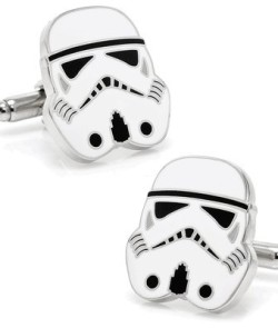 Officially-licensed-by-Lucasfilm-Star-Wars-3-D-Storm-Trooper-Head-Cufflinks-C-0