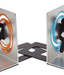 Portal-2-Bookends-for-Shelf-and-Books-Officially-Licensed-Portal-Collectible-0