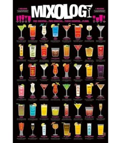 Shooters-Shot-Mixing-Guide-College-Poster-Print-24-by-36-Inch-0