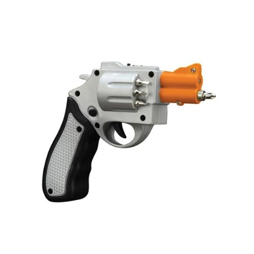 Only Cool Thangs | Silver Revolver Shaped Screwdriver With 6 ...