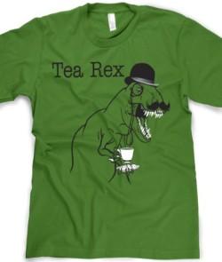 The-Tea-Rex-Funny-Graphic-dinosaur-T-Shirt-M-0