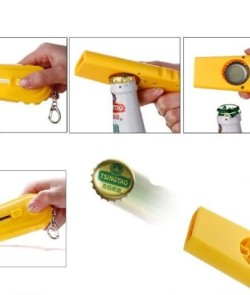 Flying-Cap-Zappa-Bottle-Opener-Cap-Launcher-Fancy-Beer-Openers-with-Key-Ring-0