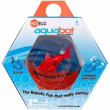 Hexbug aquabot with fishbowl styles and colors may vary for Aquabot smart fish
