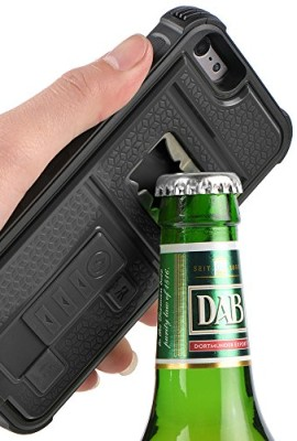Multifunctional lighter and bottle opener case for iPhone 6