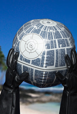Star Wars Death Star Inflatable Light Up Ball