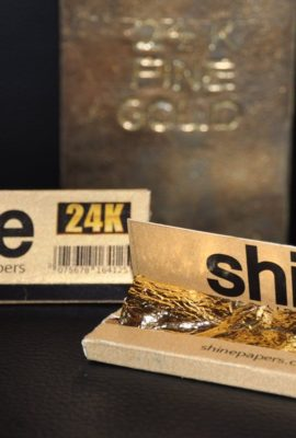 24K gold papers.